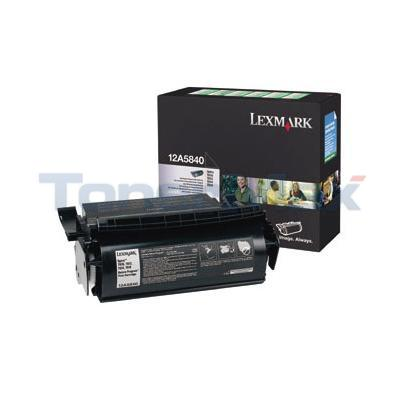 LEXMARK OPTRA T610 RP PRINT CARTRIDGE BLACK